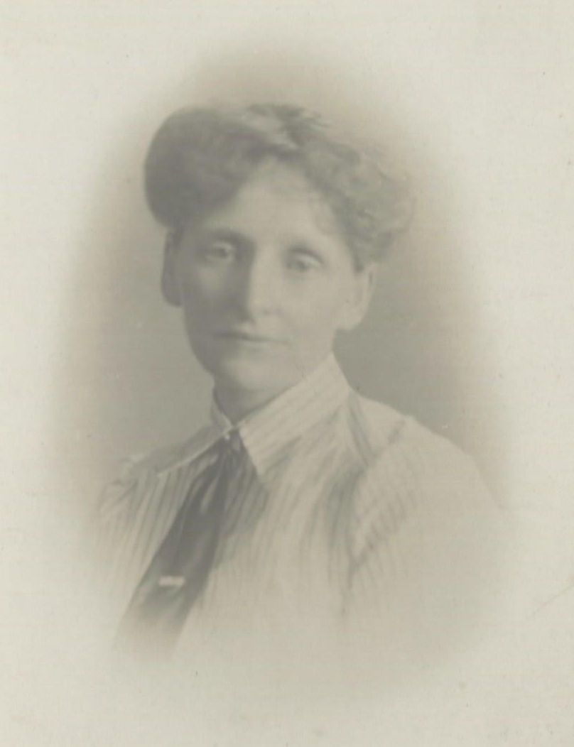 Elizabeth Foster as a young woman