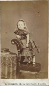 Elizabeth Foster as a child